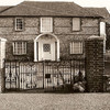 Flint faced farmhouse on the Eyhurst estate, 1983