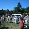 Hosting the Chipstead Fair at Elmore, 2006