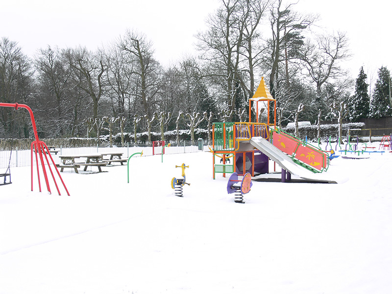 Children's playground at King Edward's Green, winter 2007