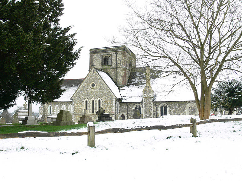 St Margaret's Church, Winter 2007