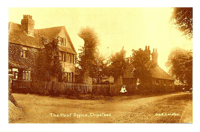 Chipstead post office, Shabden Cottages, circa 1910